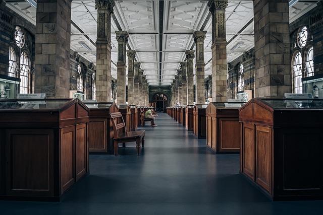 Architecture, Building, Columns, Daylight, Hallway