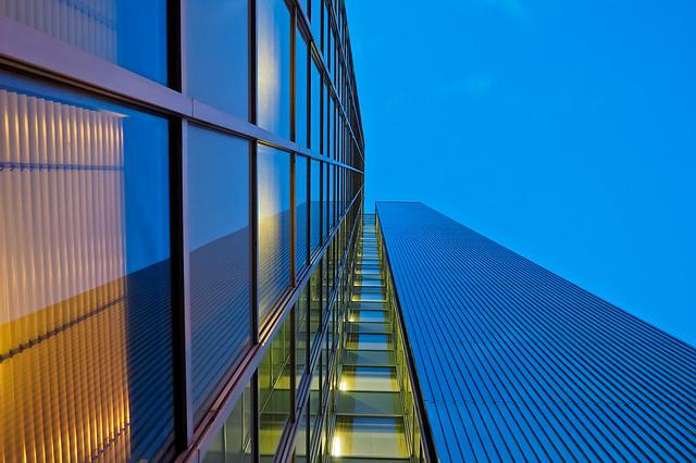 Architecture, Sky, Glass, Company, Modern, Perspective