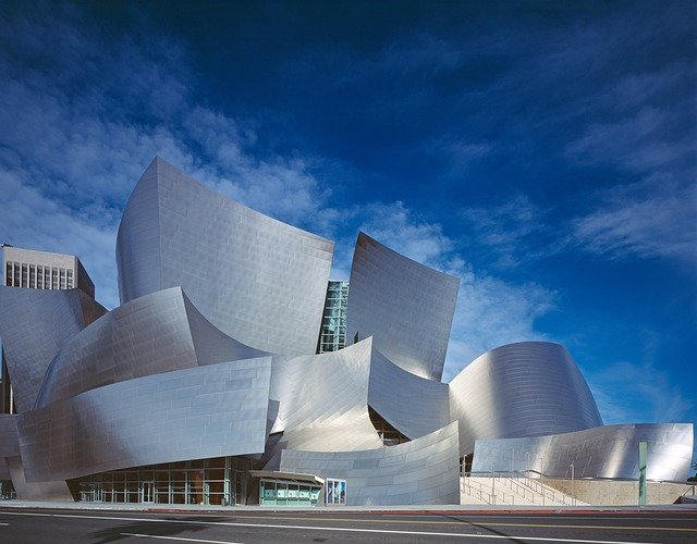 Walt Disney Center, Concert Hall, Hall, Architecture