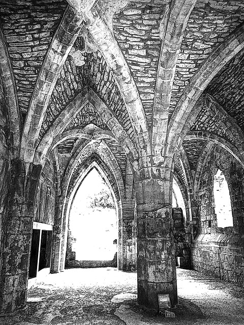 Vault, Architecture, Vaulted Ceilings, Cross Vault