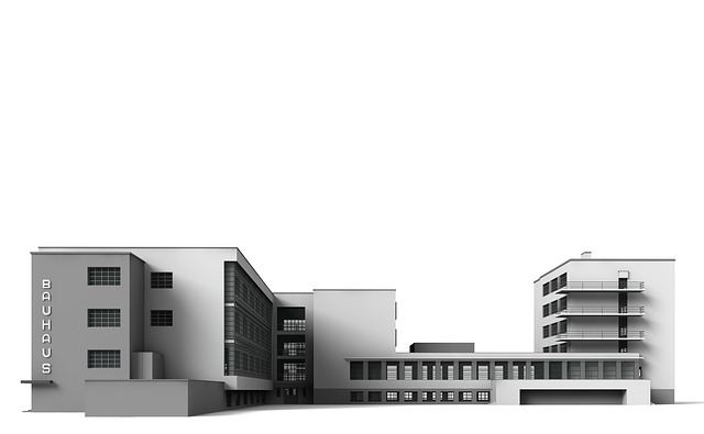 Bauhaus, Dessau, Architecture, Building, Church