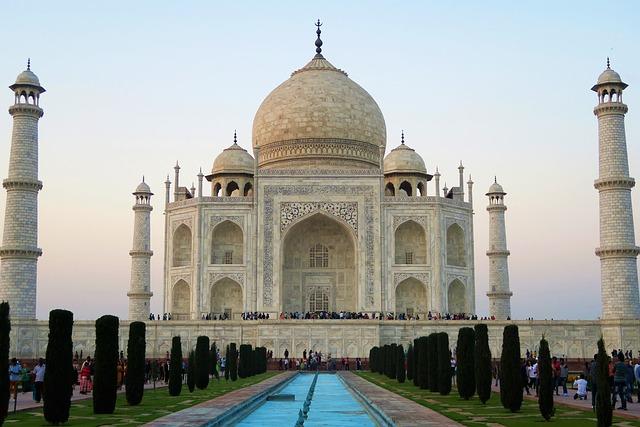 Tacmahal, Minaret, Dome, Architecture, Religion, Travel