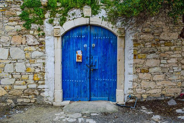 Door, Entrance, Wall, Architecture, Traditional