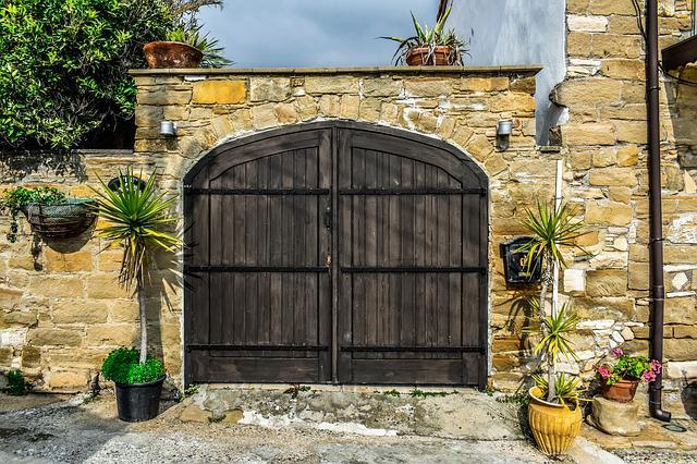Architecture, Traditional, House, Door, Wall, Old