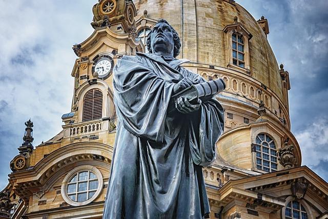 Dresden, Frauenkirche, Martin Luther, Architecture