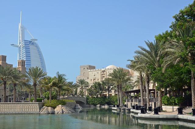 U A E, Dubai, Hotel, Burj Al Arab, Architecture