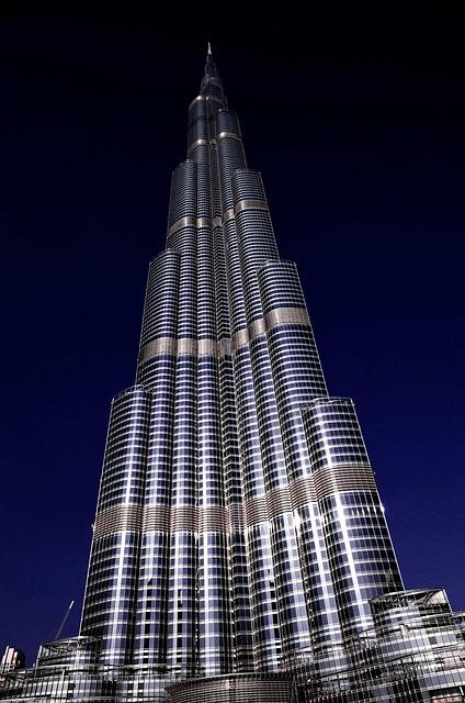 Burj Khalifa, Dubai, Skyscraper, U A E, Architecture