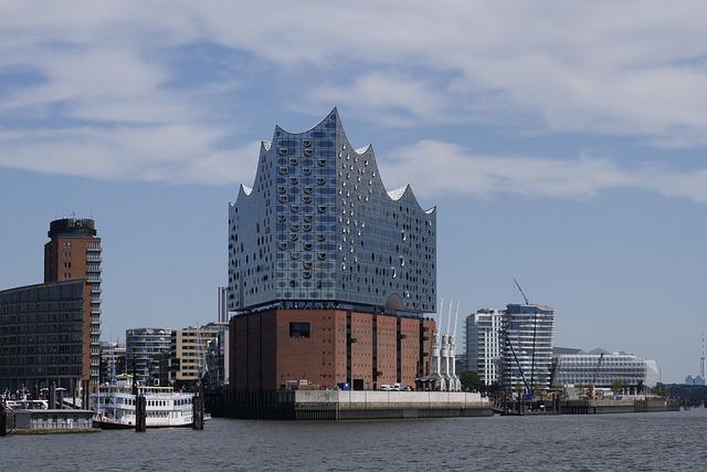 Hamburg, Elbe Philharmonic Hall, Elbe, Architecture