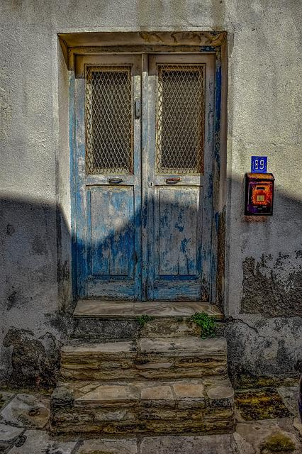 Door, Architecture, Doorway, House, Entrance, Facade
