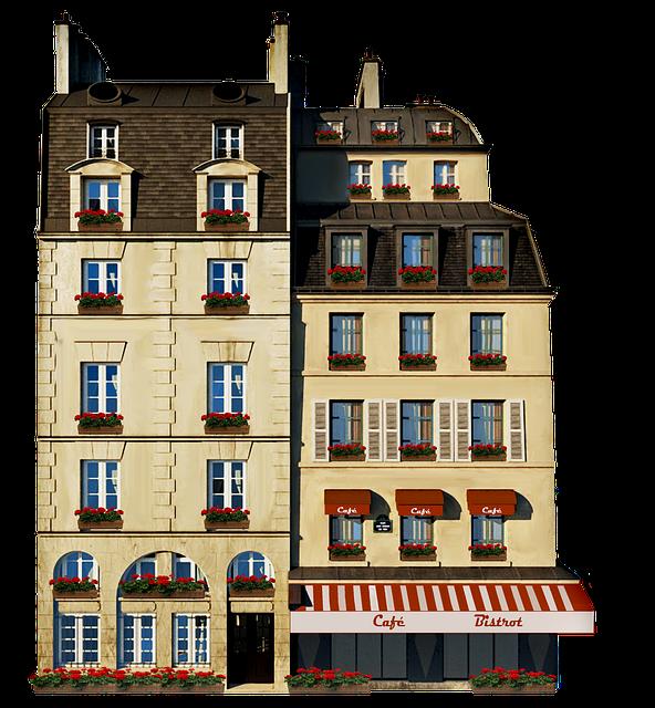 French Building, Paris, Architecture, Europe, Building