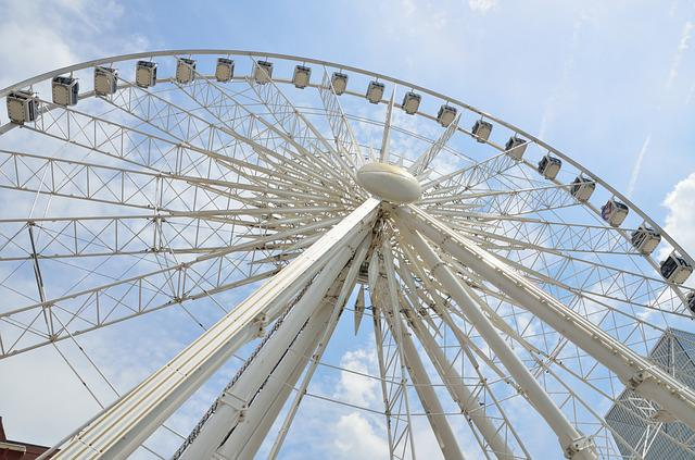Sky, Ferris Wheel, Park, Wheel, City, Architecture
