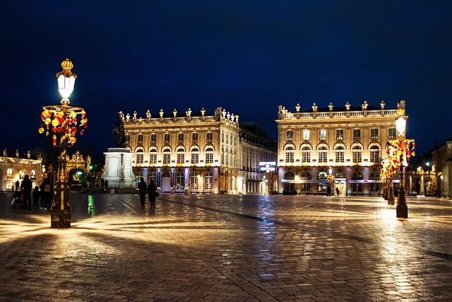 Nancy, Lorraine, France Travel, Architecture