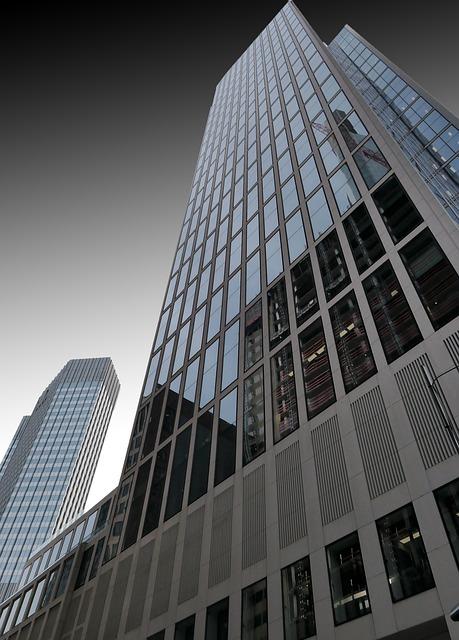 Architecture, Frankfurt, Ffm, Skyscraper, Skyscrapers