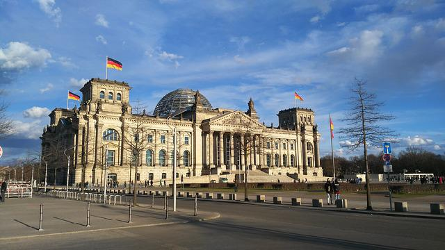 Bundestag, Berlin, Germany, Building, Architecture