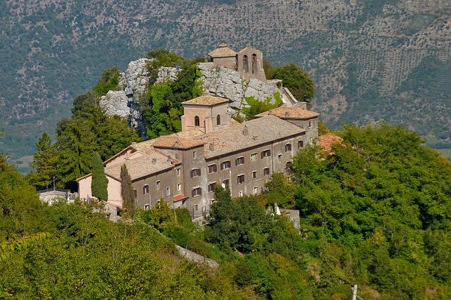 Architecture, The Palace, Travel, Old, Hill, Italy