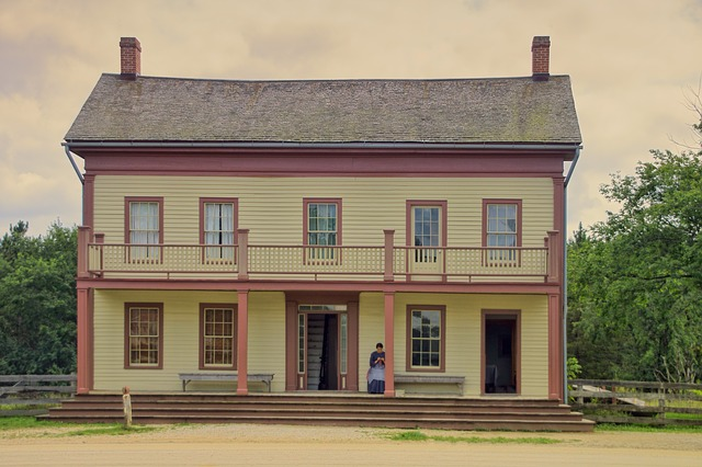 Architecture, Home, Building, Historically, Woman