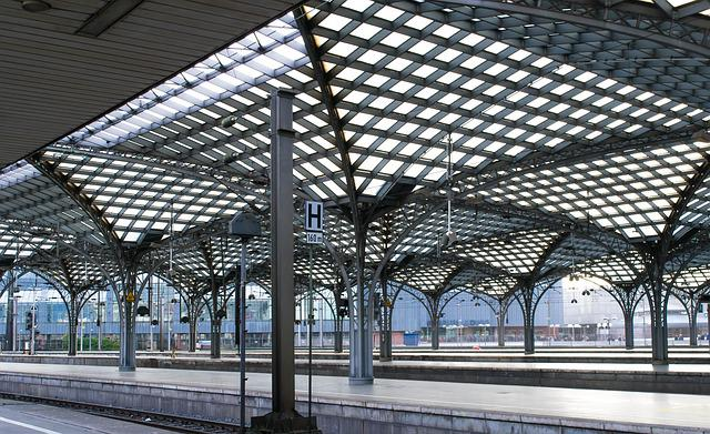 Railway Station, Platform, Historically, Architecture