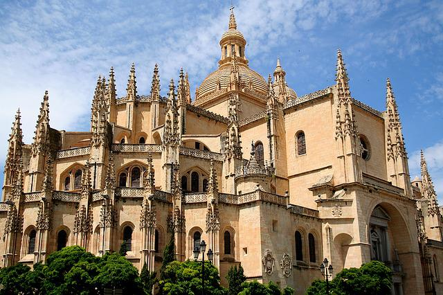 Spain, Segovia, Cathedral, Architecture, History