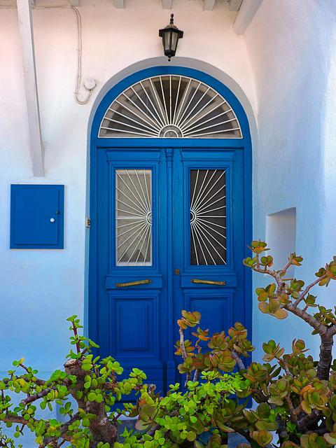 Door, Architecture, Home