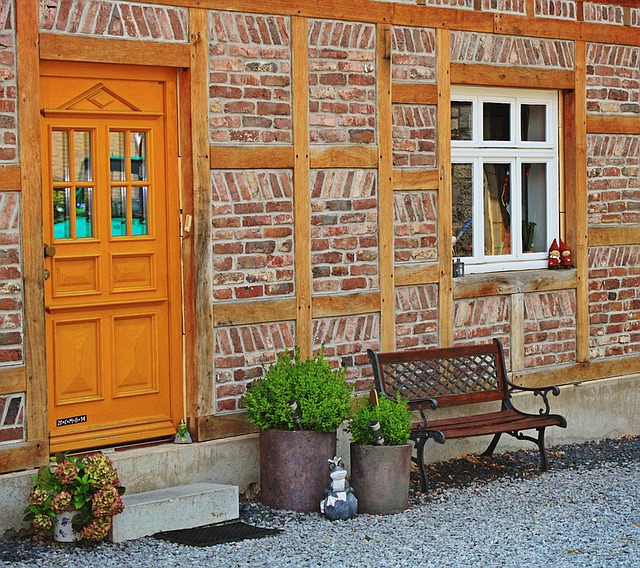 Home, Housewife, Architecture, Building, Facade, Window