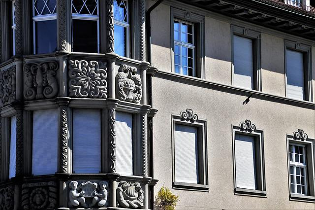 Architecture, Window, House, Building, Old