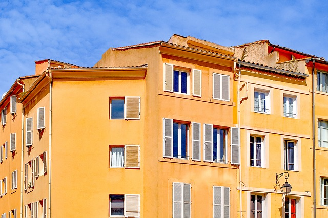 Architecture, Building, House, Facade, Colorful