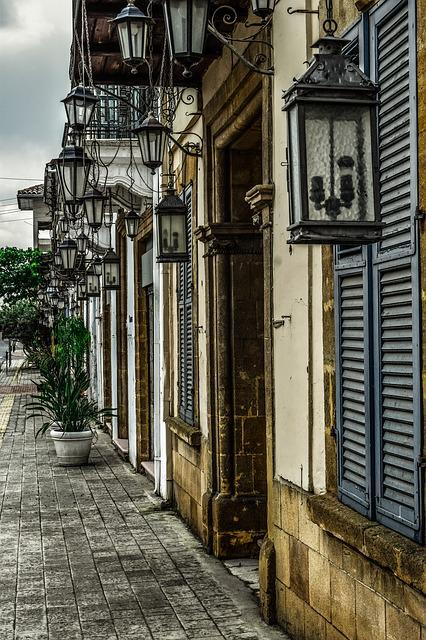 Lantern, Lamp, Architecture, Old, House, Building