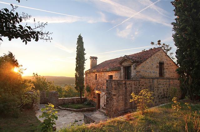 Architecture, House, Rising Sun
