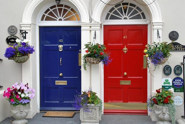 Door, House, Family, Architecture, Window, Facade, Wood