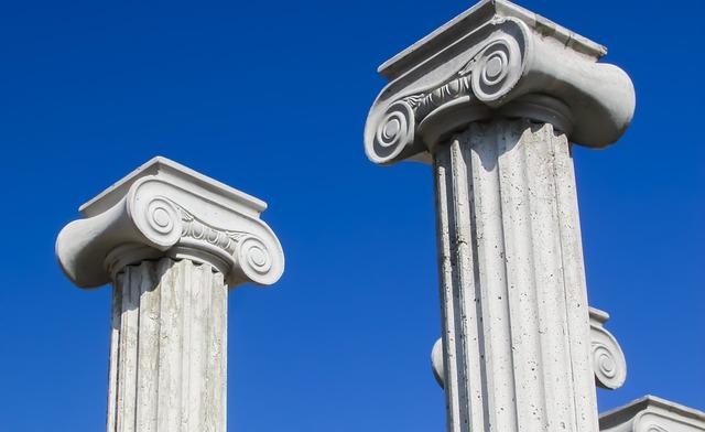 Pillar Capitals, Greek, Architecture, Column, Ionic