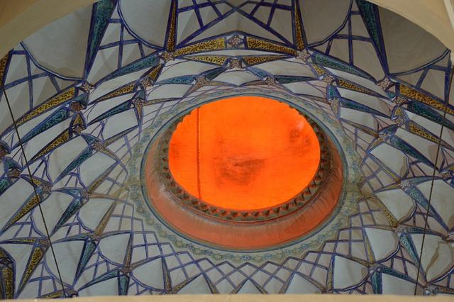 Architecture, Iran, Mosque, Blanket, Dome