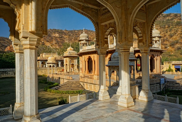 Gaitore Ki Chhatriyan, India, Jaipur, Architecture