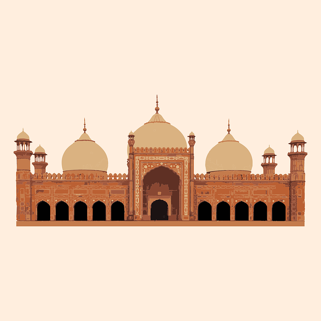 Badshahi Masjid, Lahore, Pakistan, Punjab, Architecture