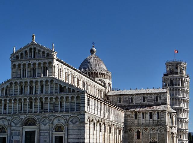 Pisa, Leaning Tower, Dom, Tuscany, Architecture