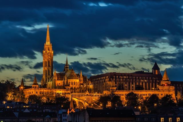 Budapest, Church, Architecture, Matthias Church