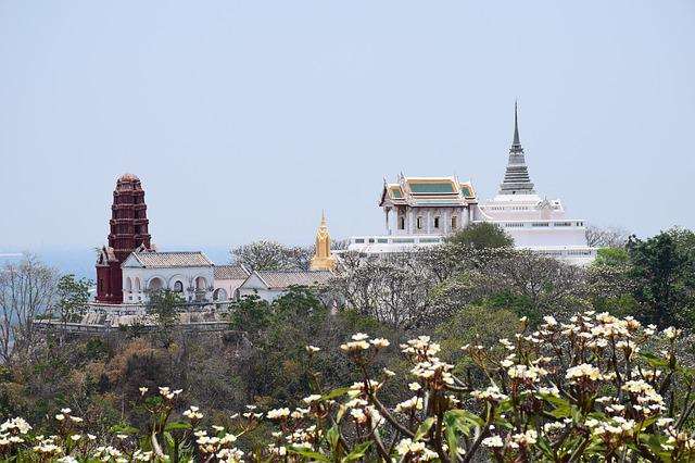 Pagoda, Measure, Attractions Thailand, Architecture