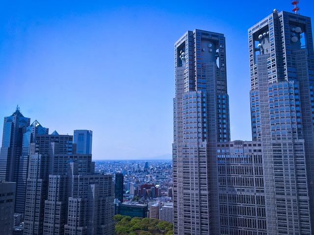 Tokyo, Japan, Building, Architecture, Tower, Metropolis
