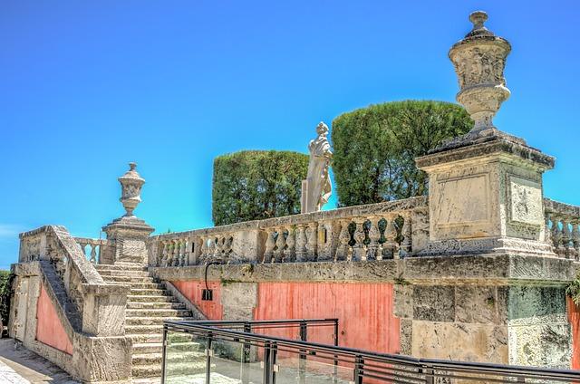 Vizcaya, Miami, Florida, Historic, Architecture, Palace