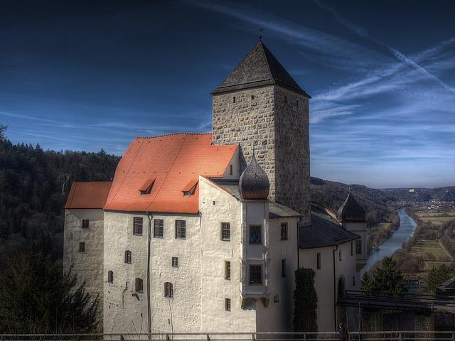 Castle, Sky, Building, Tower, Architecture, Middle Ages