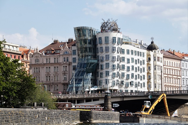 The Dancing House, Prague, Modern, Architecture