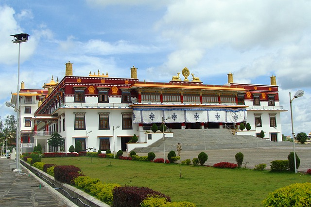 Monastery, Building, Architecture, Drepung Gomang