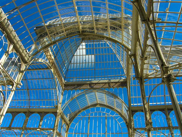 Sky, Palace, Glass, Architecture, Ceiling, Museum