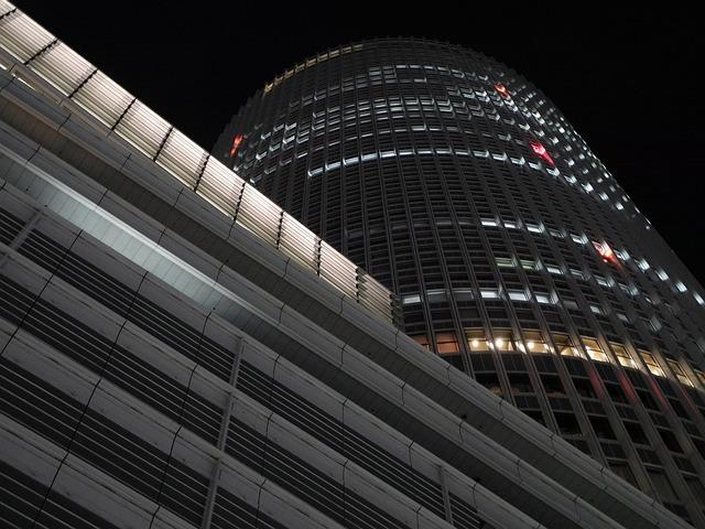Jr Towers, Office, Nagoya, Japan, Architecture, Skyline