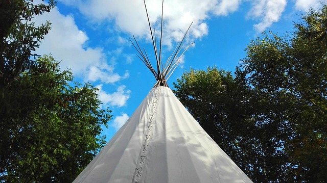 Tipi, Wigwam, Native American, Architecture, Québec