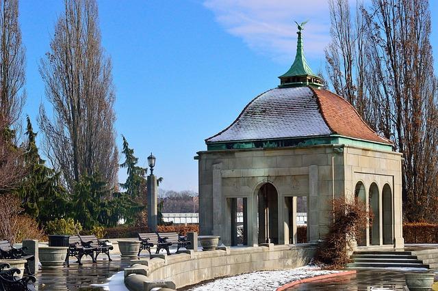 Winter Garden, Niagara Falls, Architecture, Building