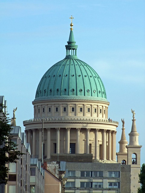 Architecture, Building, Nikolai Church, Potsdam