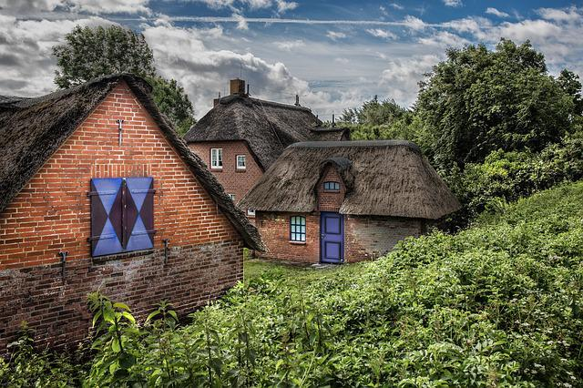 Home, Bungalow, Architecture, Old, Building