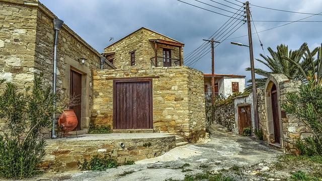 House, Architecture, Traditional, Old, Village, Street