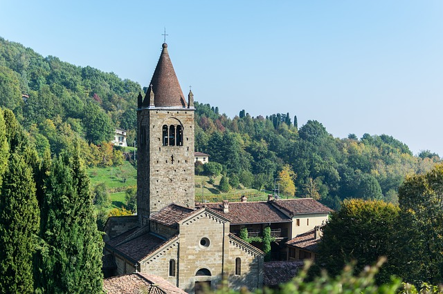 Architecture, Old, Travel, Torre, Trees, Landscape