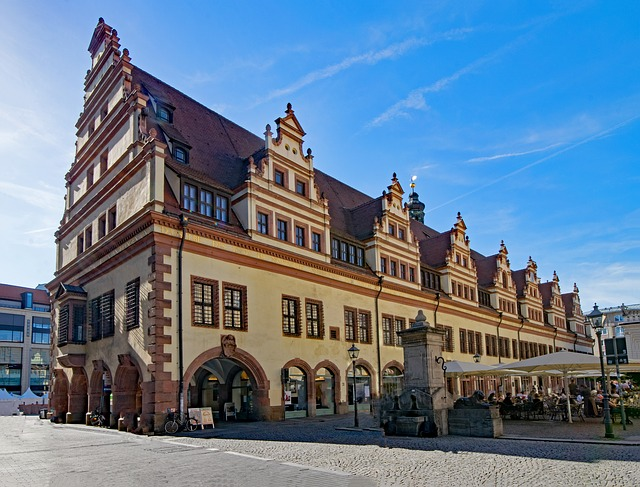 Old Town Hall, Leipzig, Saxony, Germany, Architecture
